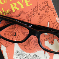 glasses catcher in the rye